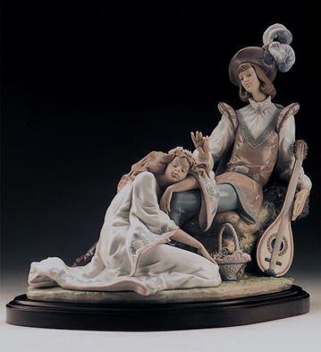Medieval Romance (b) Lladro Figurine