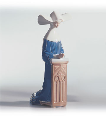 Meditation (blue) Lladro Figurine