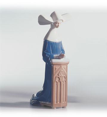 Meditation (blue) Lladro Figurine