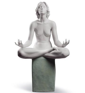 Meditation Lladro Figurine