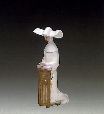 Meditation(ivory) Lladro Figurine