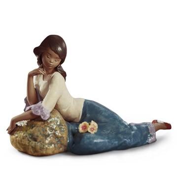 Meditative Moment Lladro Figurine
