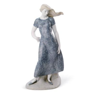 Mediterranean Breeze (blue) Lladro Figurine