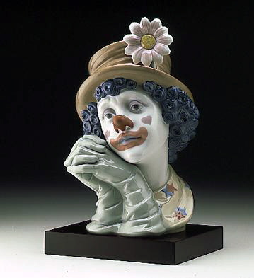 Melancholy (b) Lladro Figurine