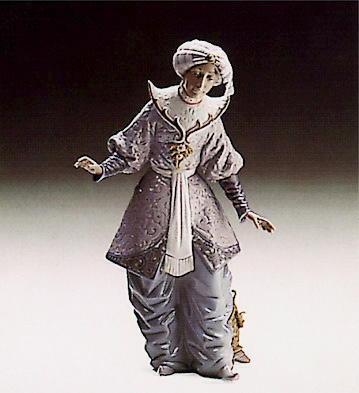 Melchor's Page Lladro Figurine
