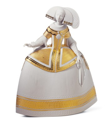 Menina Gold Lladro Figurine