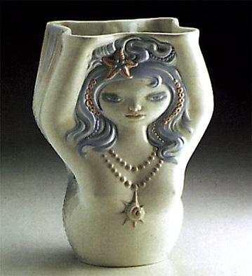 Mermaid Glass Lladro Figurine