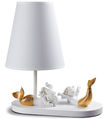 Mermaids - Lamp (us) Lladro Figurine