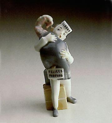 Merry Christmas Lladro Figurine