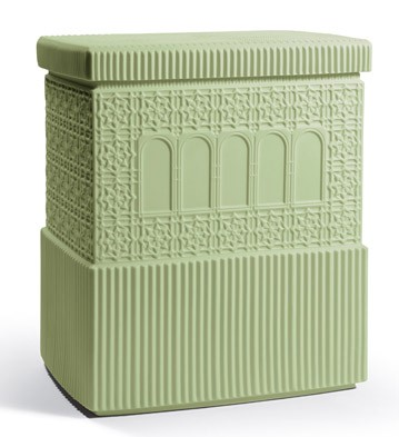 Metropolis - Box (dark Green) Lladro Figurine