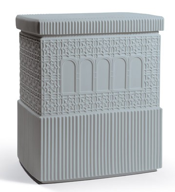 Metropolis - Box (dark Grey) Lladro Figurine
