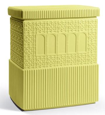 Metropolis - Box (dark Yellow) Lladro Figurine