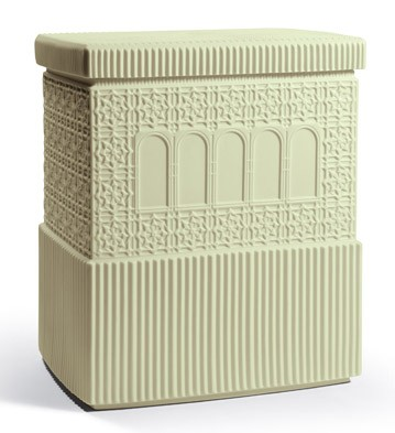Metropolis - Box (light Green) Lladro Figurine