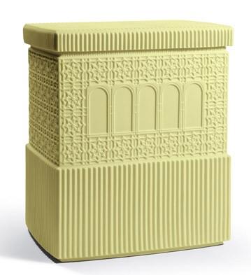Metropolis - Box (light Yellow) Lladro Figurine