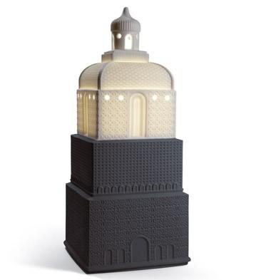 Metropolis - Lamp - Anthracite (us) Lladro Figurine