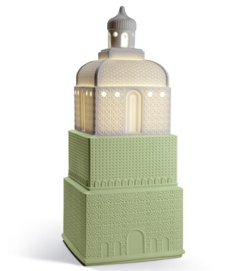 Metropolis - Lamp - Dark Green (uk) Lladro Figurine
