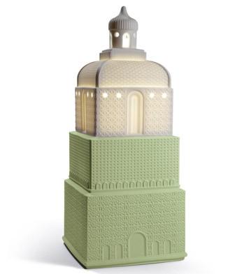 Metropolis - Lamp - Dark Green (uk) Lladro Figurine