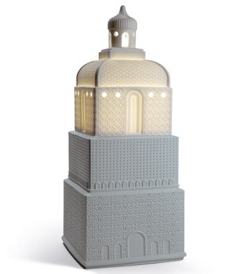 Metropolis - Lamp - Dark Grey (uk) Lladro Figurine