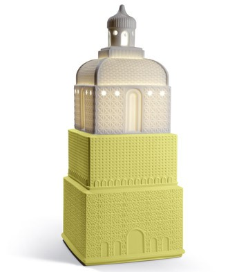 Metropolis - Lamp - Dark Yellow (jp) Lladro Figurine