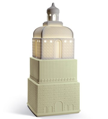 Metropolis - Lamp - Light Green (ce) Lladro Figurine