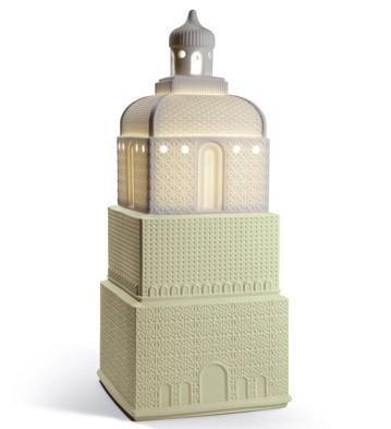Metropolis - Lamp - Light Green (jp) Lladro Figurine