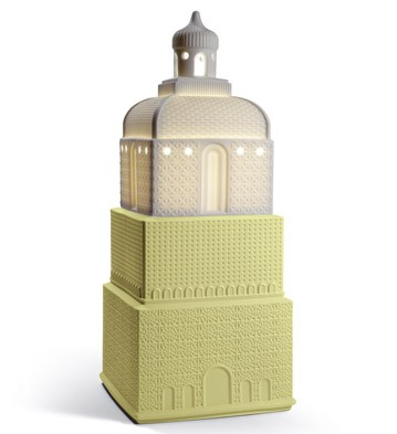 Metropolis - Lamp - Light Yellow (uk) Lladro Figurine