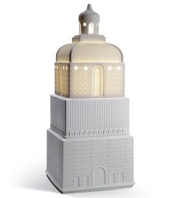 Metropolis - Lamp - White (us) Lladro Figurine
