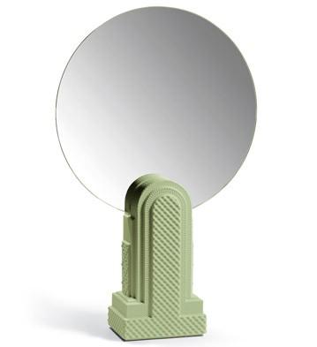 Metropolis - Vanity Mirror (dark Green) Lladro Figurine