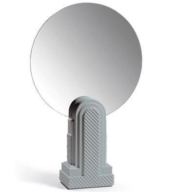 Metropolis - Vanity Mirror (dark Grey) Lladro Figurine