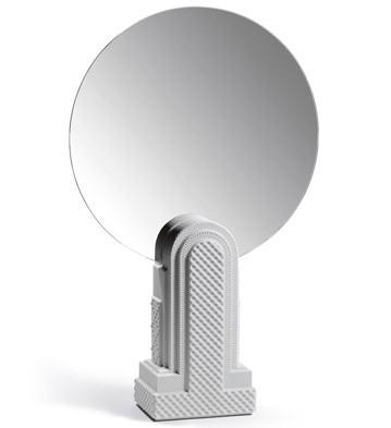 Metropolis - Vanity Mirror (white) Lladro Figurine