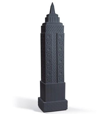 Metropolis - Vase I (anthracite) Lladro Figurine