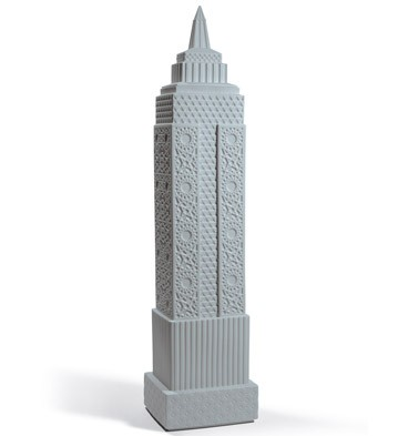 Metropolis - Vase I (dark Grey) Lladro Figurine