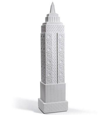 Metropolis - Vase I (white) Lladro Figurine