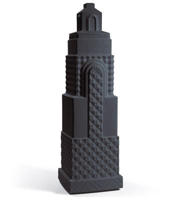 Metropolis - Vase Ii (anthracite) Lladro Figurine