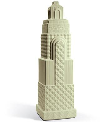 Metropolis - Vase Ii (light Green) Lladro Figurine