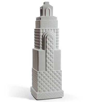 Metropolis - Vase Ii (light Grey) Lladro Figurine