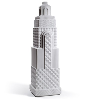 Metropolis - Vase Ii (white) Lladro Figurine