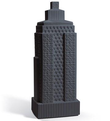 Metropolis - Vase Iii (anthracite) Lladro Figurine
