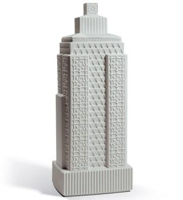 Metropolis - Vase Iii (light Grey) Lladro Figurine