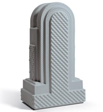 Metropolis - Vase Iv (dark Grey) Lladro Figurine