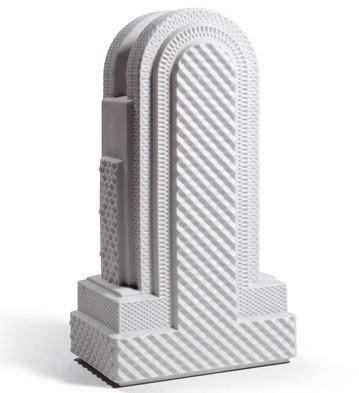 Metropolis - Vase Iv (white) Lladro Figurine
