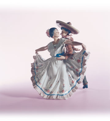 Mexican Dancers Lladro Figurine