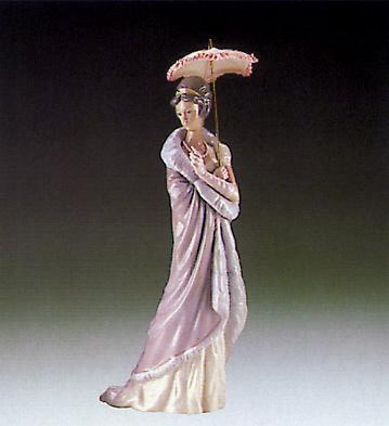 Milanese Lady Lladro Figurine