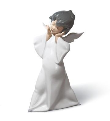 Mime Angel Lladro Figurine