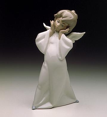 Mime Angel Lladro Figurine