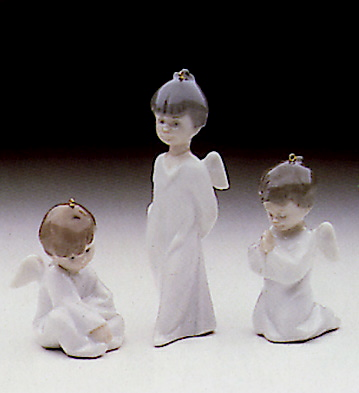 Mini Angel Tree Ornament Lladro Figurine