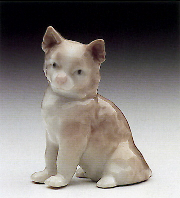 Mini Cat Lladro Figurine