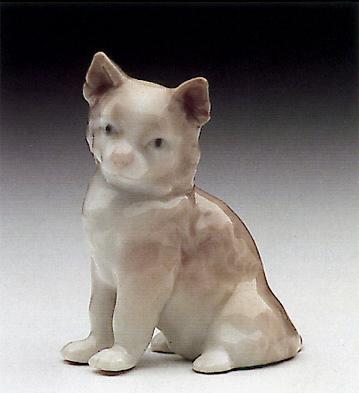 Mini Cat Lladro Figurine