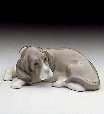 Mini Cocker Spaniel Pup Lladro Figurine