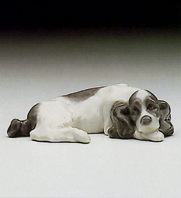 Mini Cocker Spaniel Lladro Figurine
